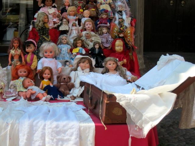 A treasure trove for doll collectors.