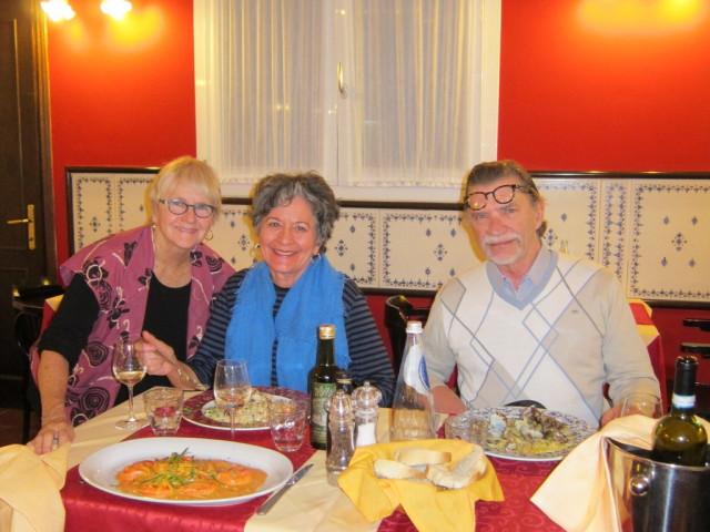 Dinner at Trattoria Il Tari'