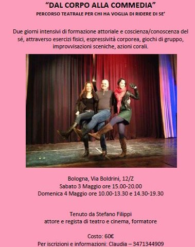 Flyer for the Theater class