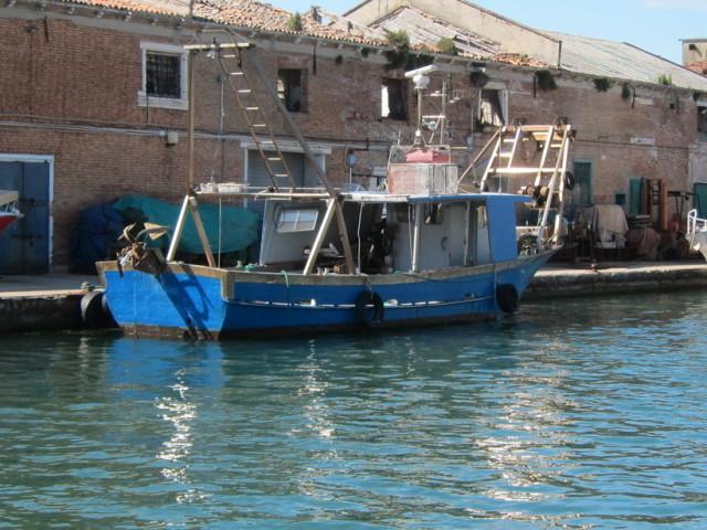 One fishing boat