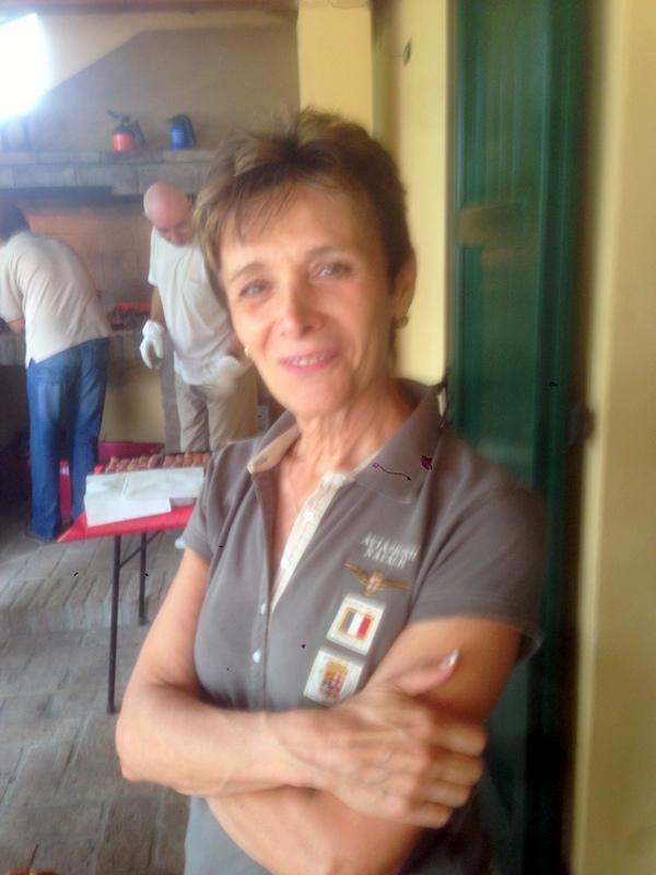 "Paolo's ""partner"" Cinzia"