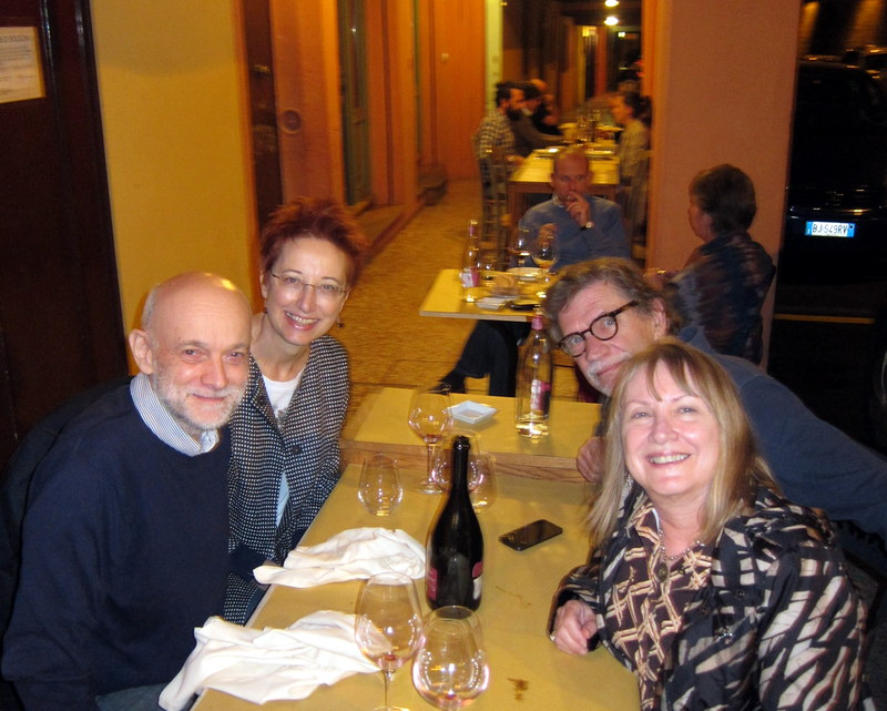 Left to right - Gabriele, Renata, ,me and Karen