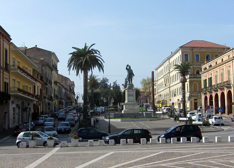 Principle square at the upper town,