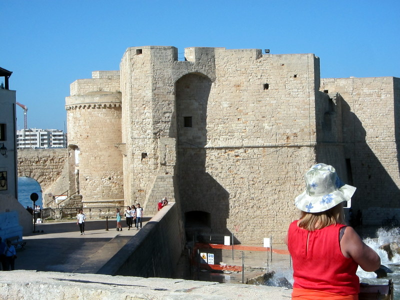 The fort at Monopoli