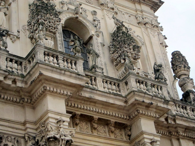 Detail of the facade.