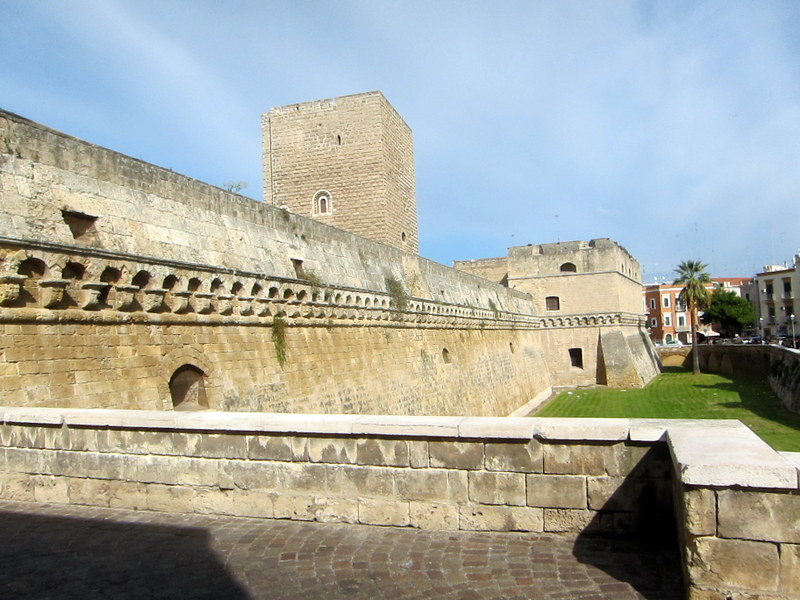 Castello Normanno-Svevo originally built in 1132