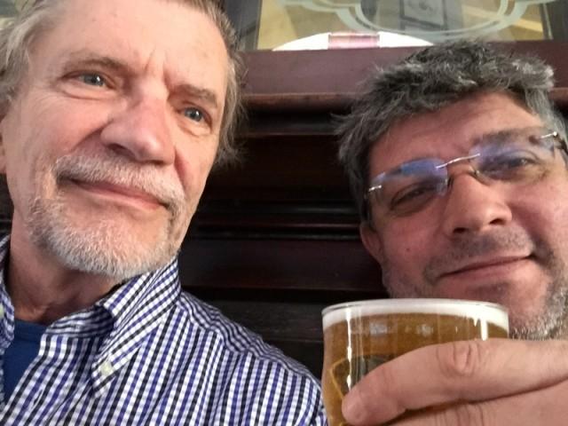 With Vittorio