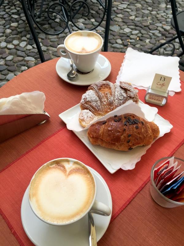 Breakfast in Padova