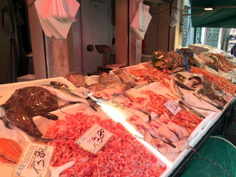 I always love a fish market and those at the Rialto market are really great