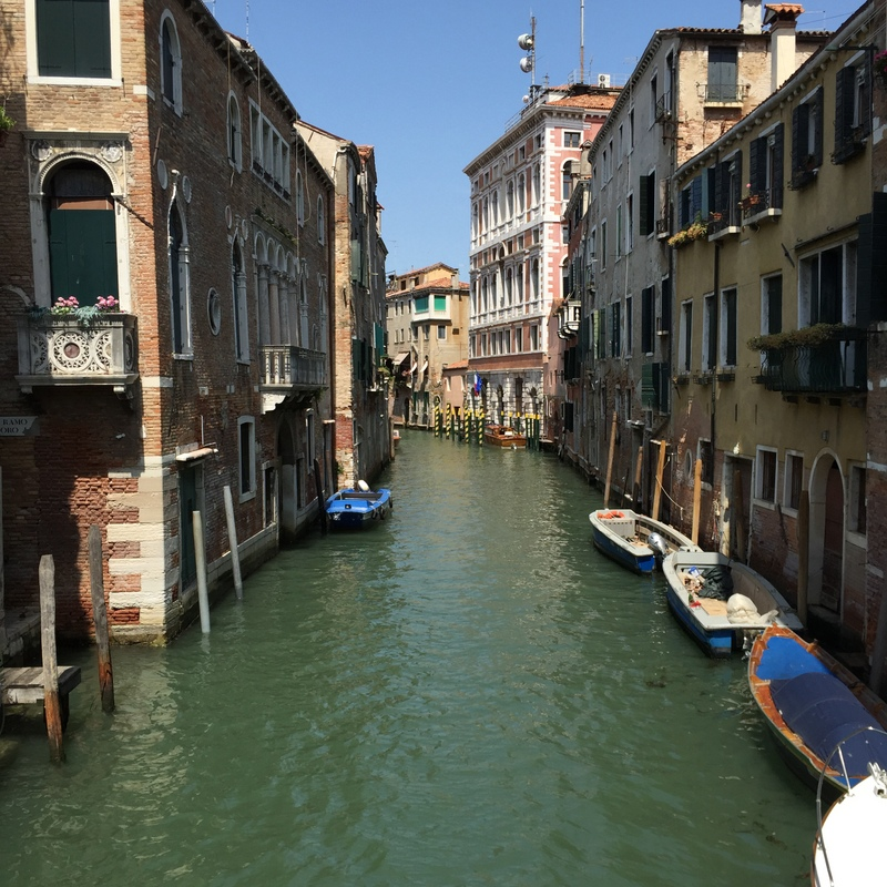 Another larger side canal