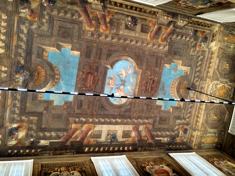 The magnificent ceiling