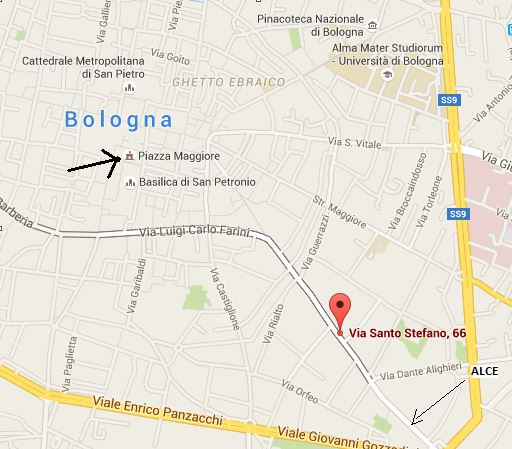 We're at via santo stefano 66