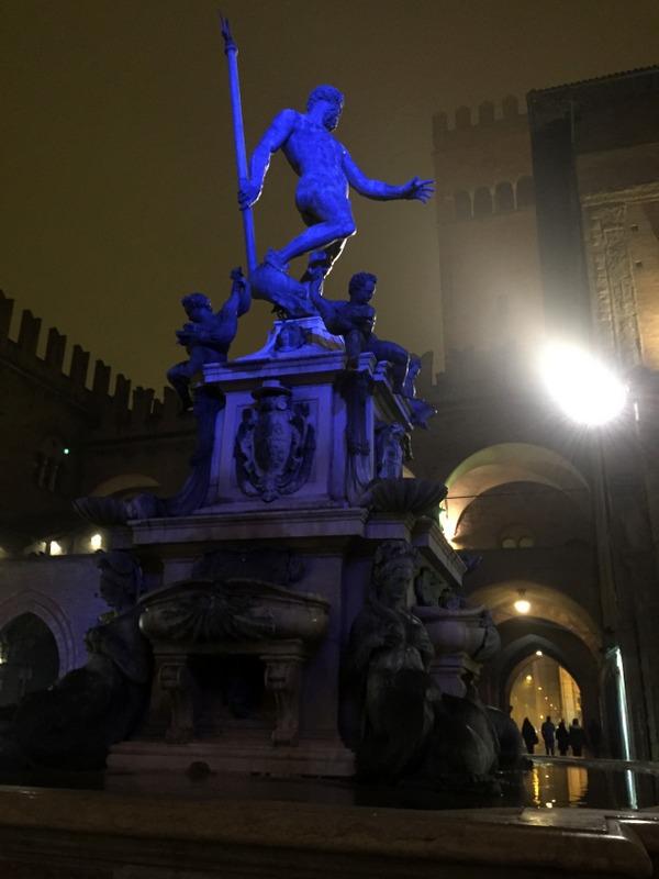 Night lighting for Nettuno