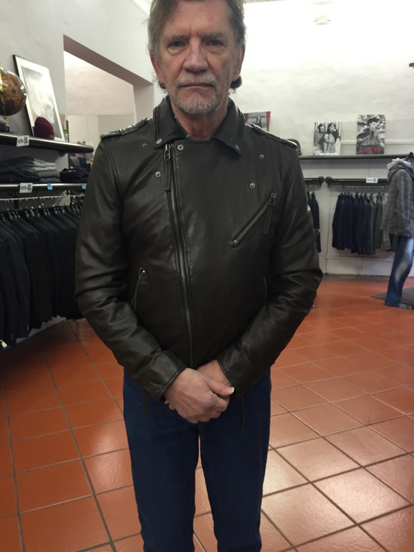 The motorcycle jacket that I liked - alas problems with the fit.