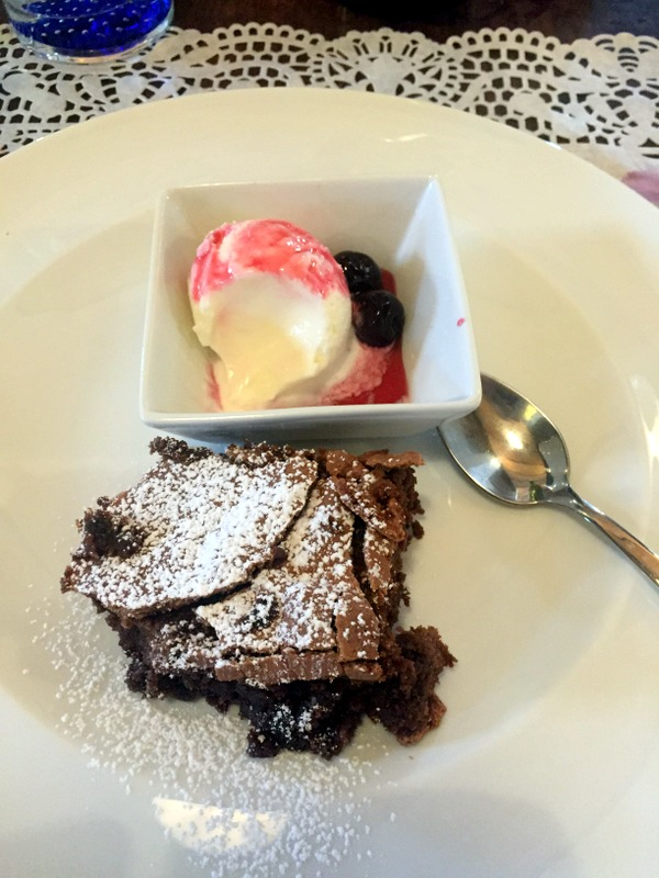 Torta and gelato