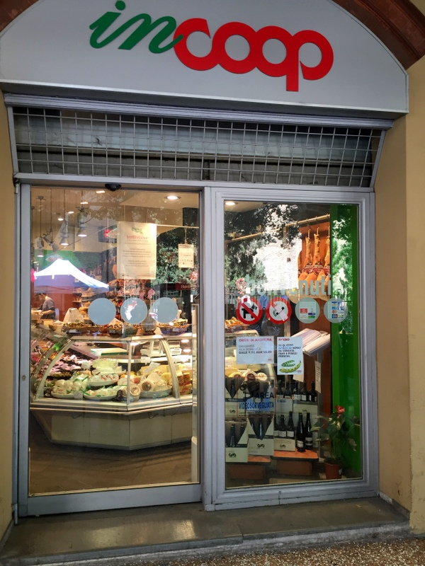 The Coop has a salumeria inside among other things