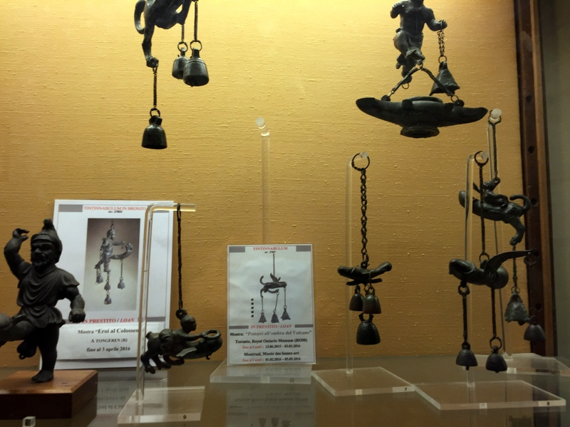 Part of the erotica room at the Napoli museum