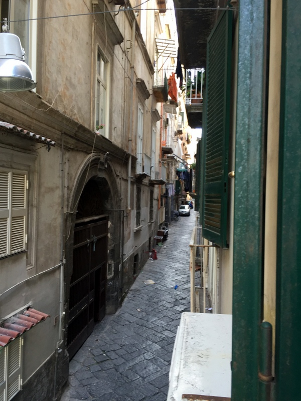 The little street where we stayed
