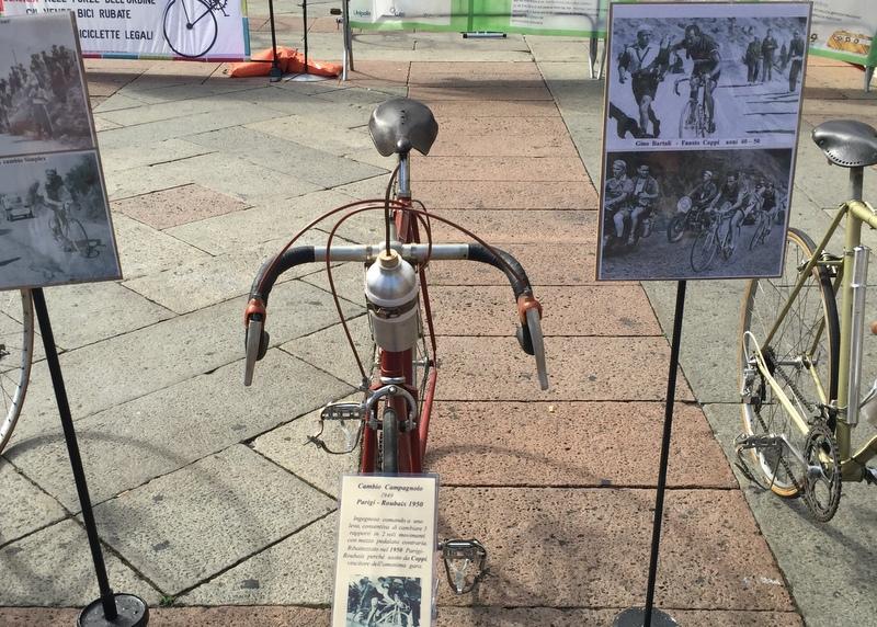 Vintage racing bikes (bici di corsa vintage)