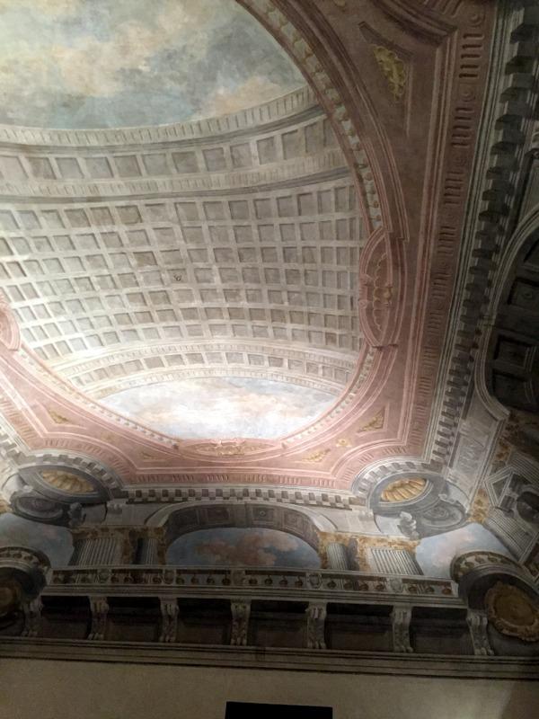 Ceiling of the same room (Soffito della stessa sala)