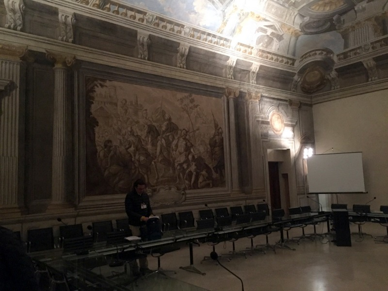 The Room for the ancients (Sala degli Anziani)