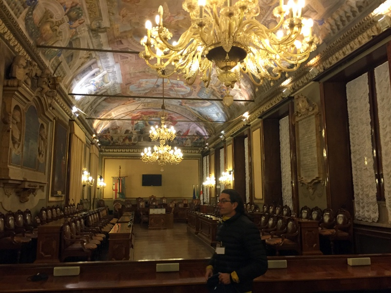 The City Council Room (La Sala del Consiglio)