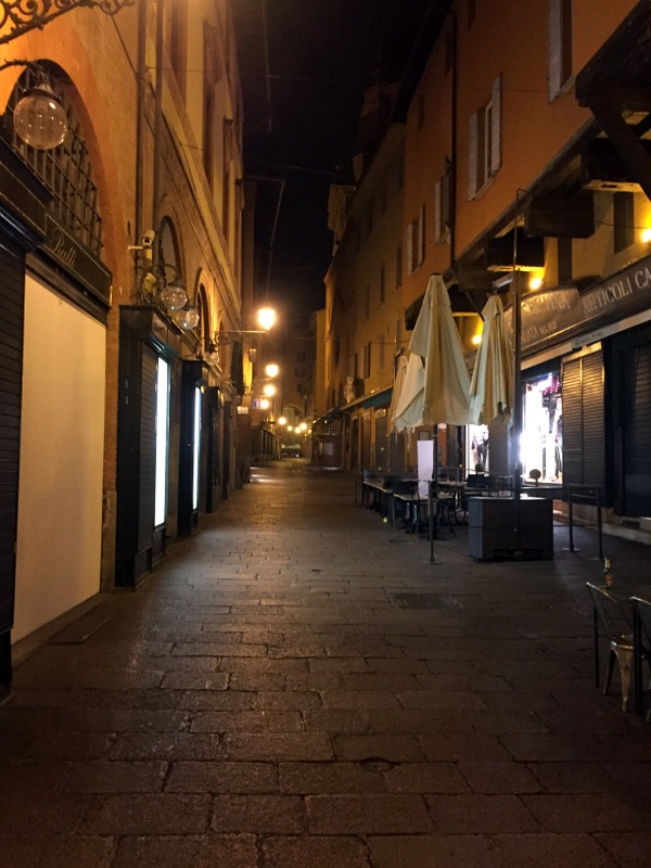 Via Clavatura - totally deserted